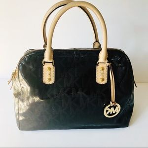 Authentic Black Patent Leather Michael Kors Bag!!